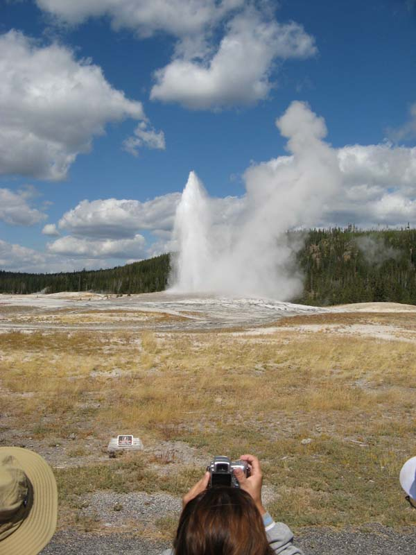 West Yellowstone And Old Faithful Letters From A Bus