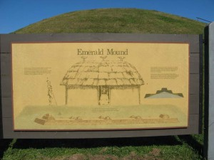 Information about the Emerald Mound.