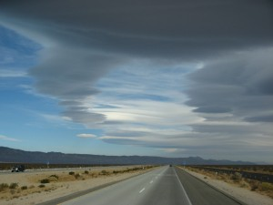 Approaching Boron, CA in the Mohave Desert.