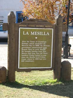 La Mesilla Sign_sm