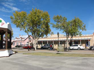 Mesilla Plaza, Las Cruces, NM