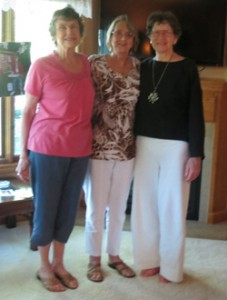 I visited my Peeke first cousins Caroline Johnson and Cheryl Edelen in St. Cloud, MN.